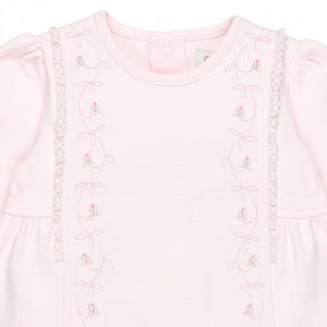 Emile et Rose Rachel 1847 Babygrow and Headband Set AW19