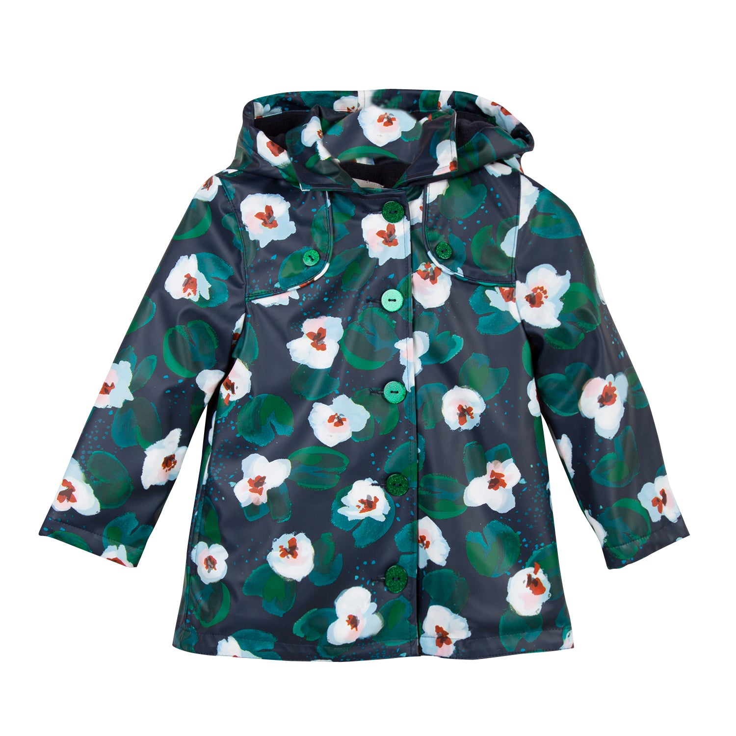 22928f09a11c5 Catimini CM42095 Floral Windbreak - Geoffrey and Joy