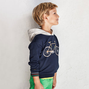 Mayoral 3403 019 Navy Bicycle Pullover SS21