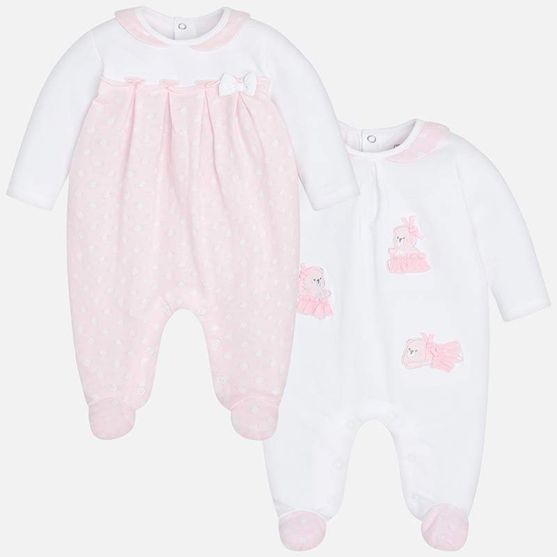 1c007df6524 Mayoral 1707 093 Baby Rose Babygrow