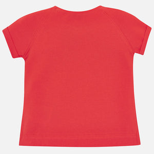 Mayoral 3004 080 Persimmon Short Sleeve T-shirt