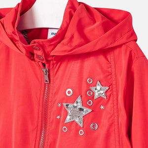 NEW Mayoral 6411 076 Parka With Appliques