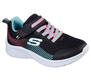 Skechers Microspec Black/Aqua