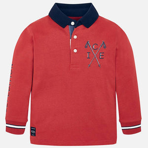 Mayoral 4116 Graphic Polo Shirt AW19
