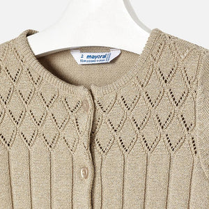 Mayoral 4326 041 Vision Knit Cardigan