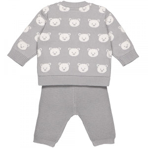 Emile et Rose Rex 6431 Teddy Knit Trouser Set AW19