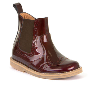 Froddo G3160100-7 Wine Patent Boot