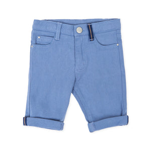 Tutto Piccolo 7112W19 Porcelain Trousers AW19 BLUE