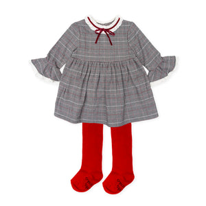 Tutto Piccolo 7440W19 Dress and Tights AW19
