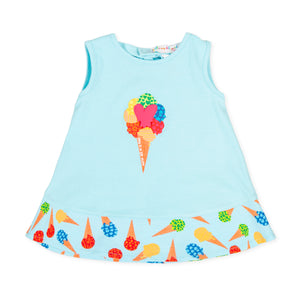 Agatha Ruiz De La Prada 9201S20 Aquamarine Dress SS20