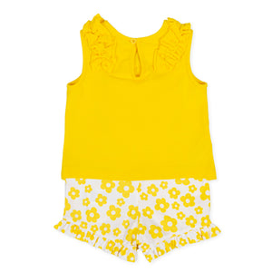 Agatha Ruiz De La Prada 9623S20 Yello T-Shirt and Shorts Set SS20