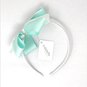 Daga Mint And White Headband