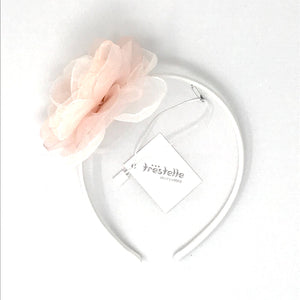 Daga Peach And Cream Flower Headband