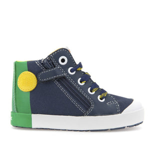 Geox B Kilwi Navy Green Boy