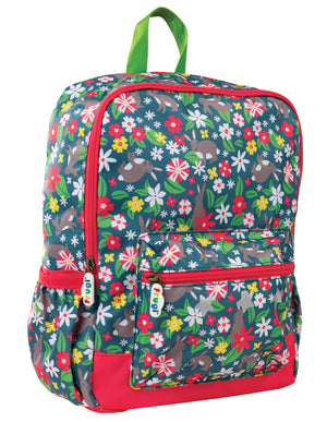 Frugi Adventurers Backpack Rabbit Fields SS20