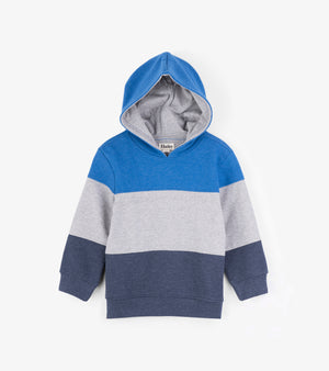 Hatley Colour Block Hooded Pullover