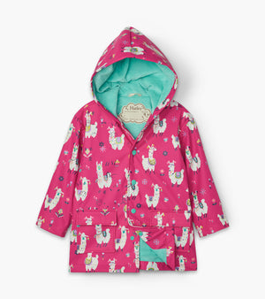 Hatley Pretty Alpacas Raincoat AW20