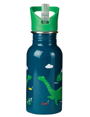 Frugi Splish Splash Steel Bottle Nessie AW20