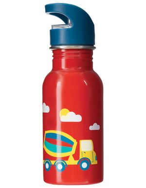 Frugi Splish Splash Steel Bottle Koi Red/Digger SS20