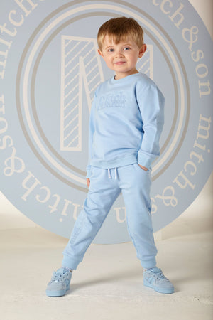 Mitch and Son MS1317 Henry Pale Blue Tracksuit SS20