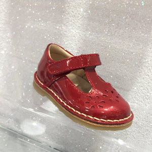 Petasil Cecily Red Patent