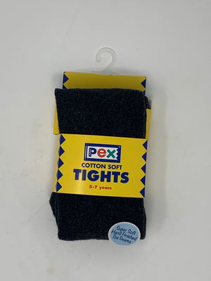Pex Tights Charcoal 2 Pack