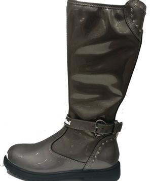 NEW Lelli Kelly Charlotte Pewter Long Boot