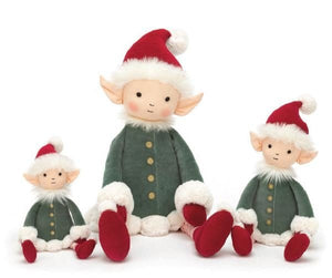JellyCat Leffy Christmas Elf Small