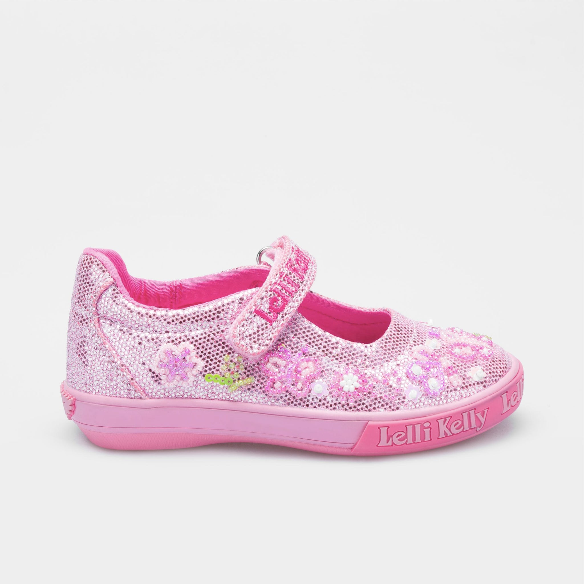 bfa75a37fa2 Lelli Kelly Butterfly GL D Rosa Glitter - Geoffrey and Joy