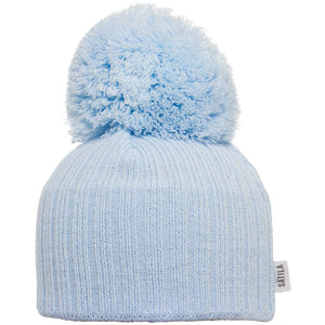 Satila Park Light Blue Pom Pom Hat