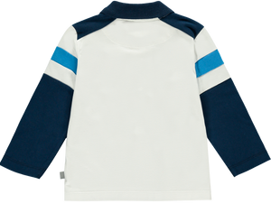 Mitch and Son MS1228 Paine Stripe Long Sleeve Polo AW19