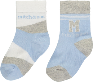 Mitch and Son MS1348 Aiden 2 Pairs of Socks SS20
