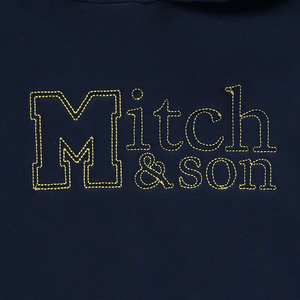 Mitch and Son MS1334 Jackson Navy Hoodie Tracksuit SS20