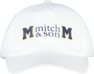 Mitch and Son MS1349 Carl Cap with Logo SS20