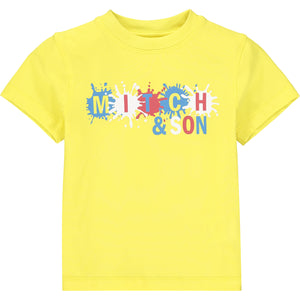 Mitch & Son Castle Paint Splash T-shirt SS21