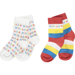 Mitch & Son Cowcaddens Colourful Socks SS21