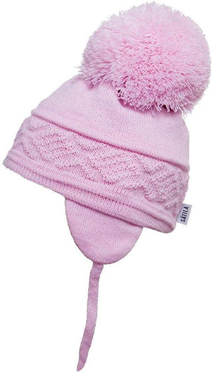 Satila Malva Light Pink Pom Pom Hat