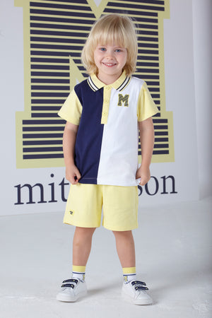 Mitch and Son MS1351 Blair Polo Shirt and Short Set SS20