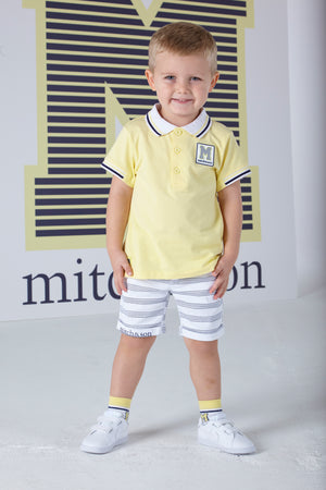 Mitch and Son MS1326 John Lemon Polo Shirt SS20