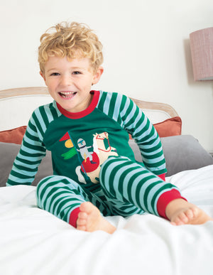 Frugi Ace PJs  Scots Pine/Knight AW20