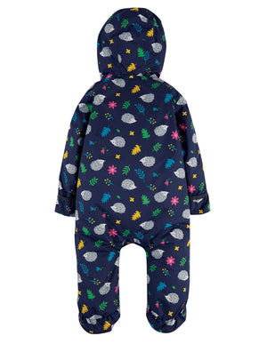 Frugi Explorer Waterproof All In One Suit Hedgehogs AW20