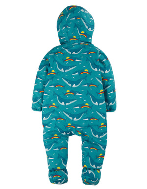 Frugi Explorer Waterproof All In One Suit Rainbow Whales AW20