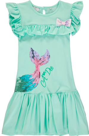 A Dee S203709 Ceara Beach Glass Mermaid Tail Dress SS20