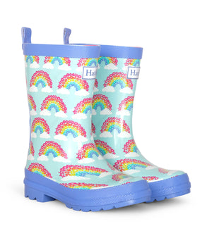 Hatley Magical Rainbows Shiny Rain Boots SS20