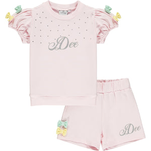 Adee Omaria Sweatshirt Short Set SS21