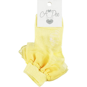 A Dee Osaka Frilly Ankle Sock SS21