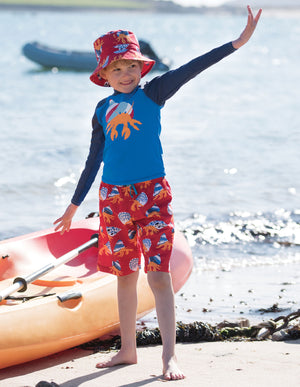 NEW Frugi Board Shorts, Totally Clawsome