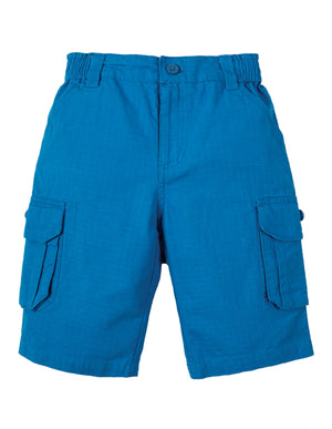 NEW Frugi Ripstop Shorts Sail Blue