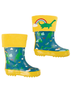 Frugi Warm Up Welly Liner Sunflower/Nessie AW20
