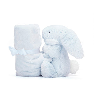 NEW JellyCat Bashful Blue Bunny Soother